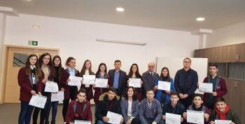 """Qendra e Kompetencës """"Kujtim Krasniqi"""" në Malishevë organizoi garë shkollore me kl e X-ta për nder të 10 vjetorit të Pavarsisë së Republikës së Kosovës"""
